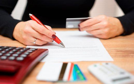taxa de cartão de crédito