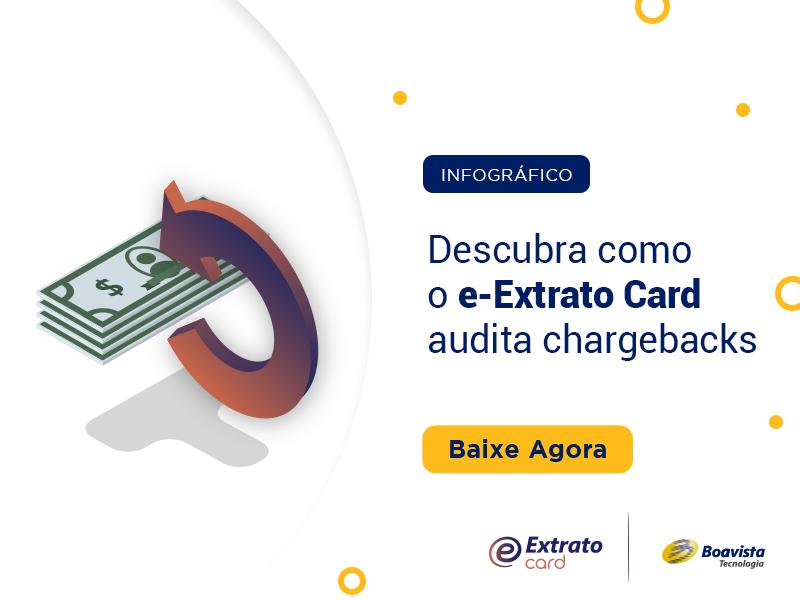 como o e-Extrato Card Audita Chargebacks