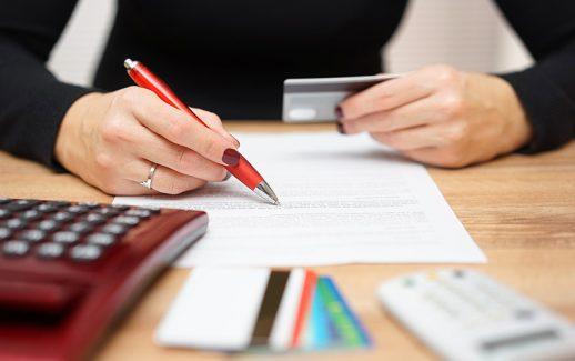Taxa do cartão de crédito